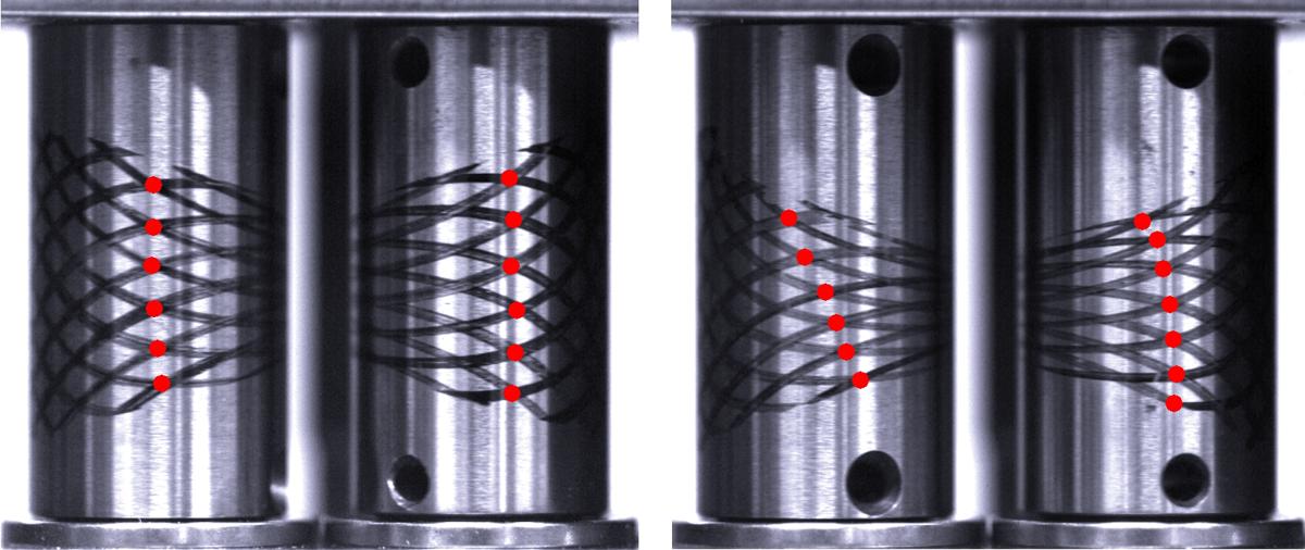 Verification of correct measurement of elongational viscosity
