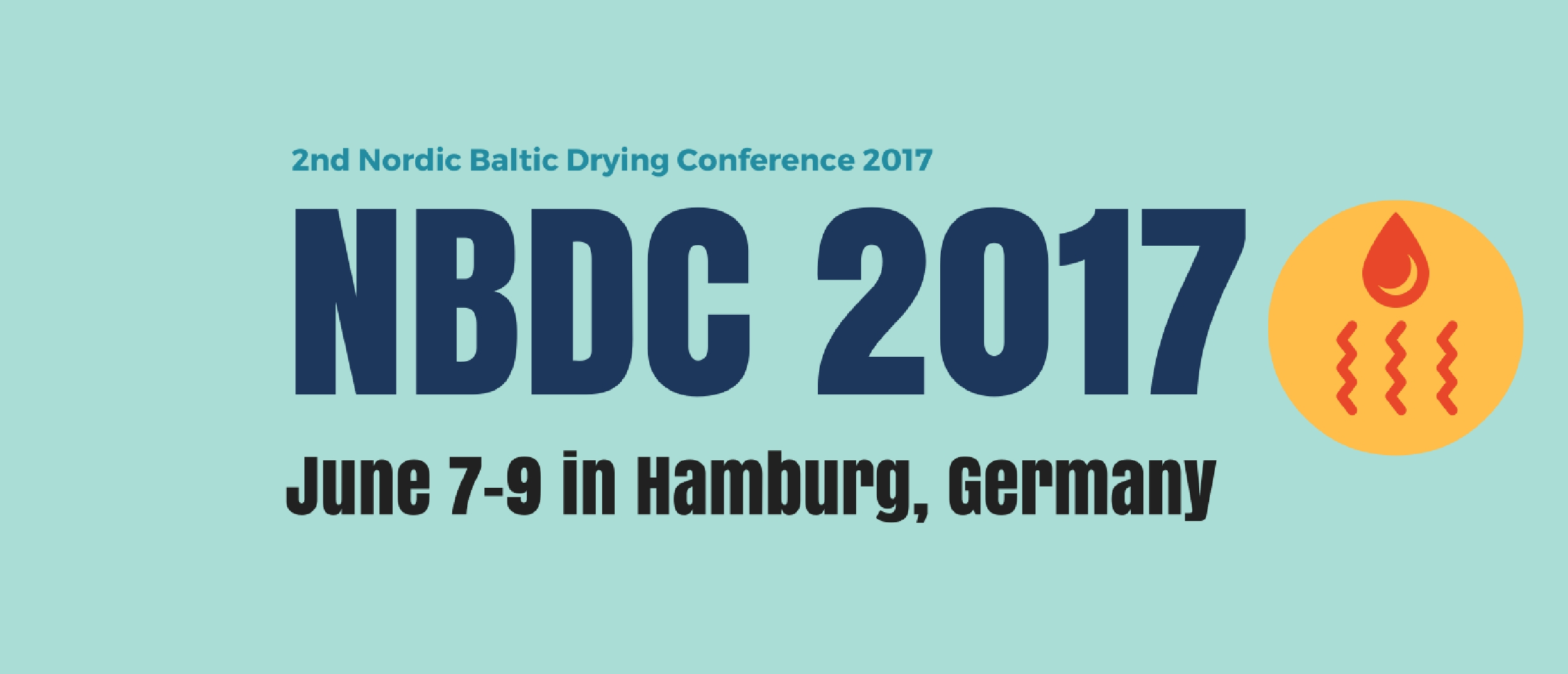 2nd Nordic Baltic Drying Conference 2017