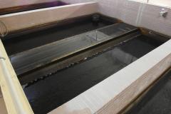 Filtrace vloček, které se neusadily, na pískových filtrech