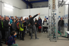 Poloprovozní model úpravy vody ve Společné laboratoři ÚH a VHS