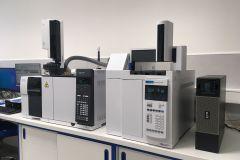 (HS)-GC-MS(ECD) - Plynový chromatograf s headspace i kapalným nástřikem, hmotnostním detektorem a detektorem elektronového záchytu