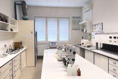 Laboratoř úpravy pitné vody - míchací kolona, flotace