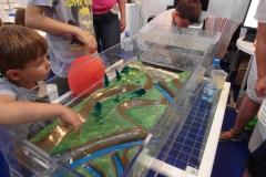 Model krajiny pro simulaci povodně
