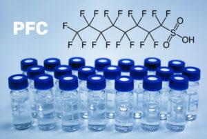 Perfluorouhlovodíky ve vodě